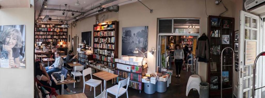 Librairie spécialisée dans la littérature non-fictionnelle Wrzenie swiata à Varsovie.