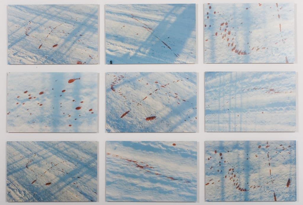 """Droga"" de B.Burska au musée d'art contemporain Zacheta à Varsovie."