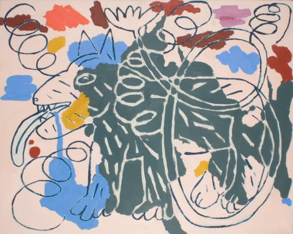 """N°43"" de Ryszard Grzyb au musée d'art contemporain Zacheta à Varsovie."