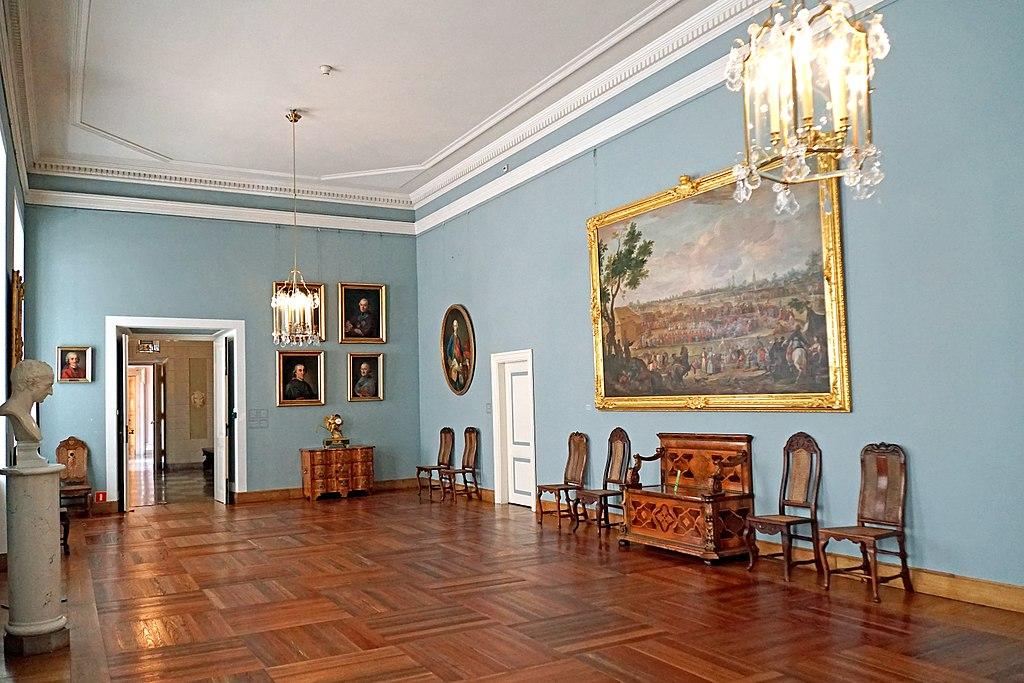 Chambre de l'assemblée au Palais Royal de Varsovie - Photo de Dennis Jarvis
