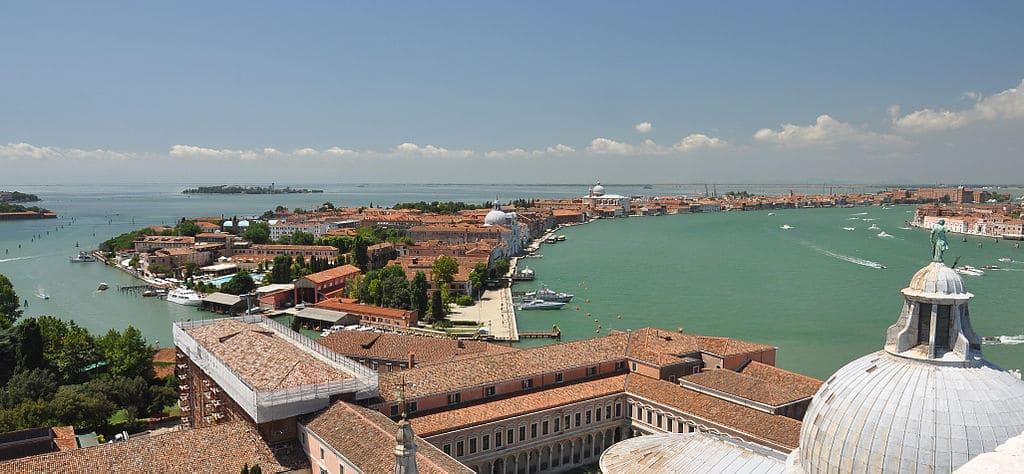 Île de Giudecca à Venise depuis la campanile de San Giorgio Maggiore - Photo de Moonik