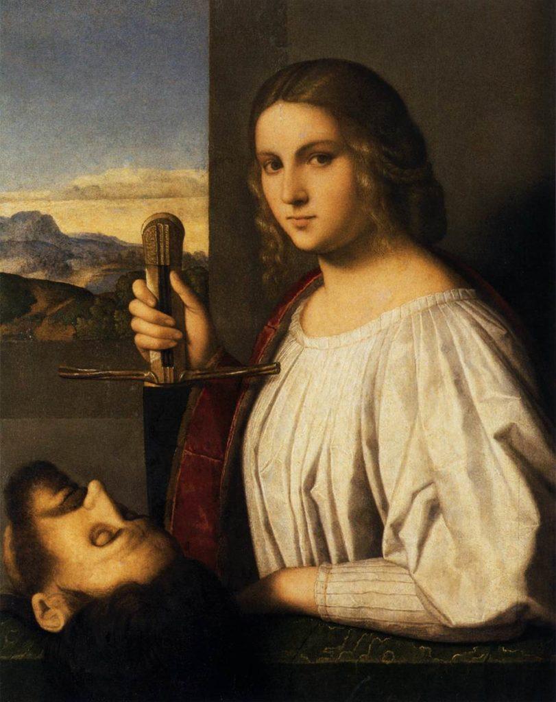 """""""Judith"""" (1525) par Vincenzo Catena à la Pinacotheque Querini Stampalia à Venise."""