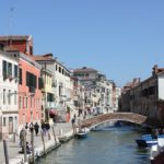 Quartier de Cannaregio à Venise