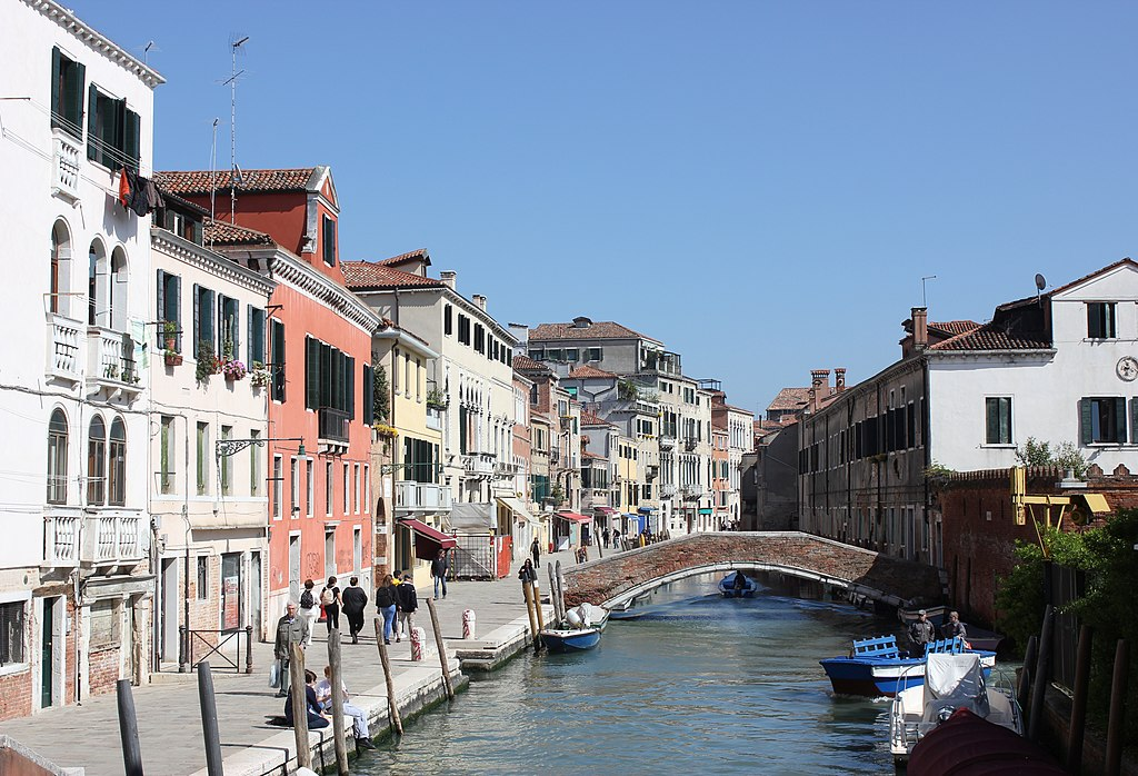 Rio de la Misericordia dans le quartier de Cannaregio à Venise - Photo de Andrzej Otrębski