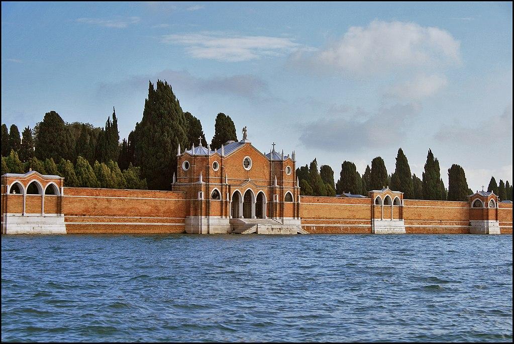 Cimetière de San Michele à Venise : L'île aux morts