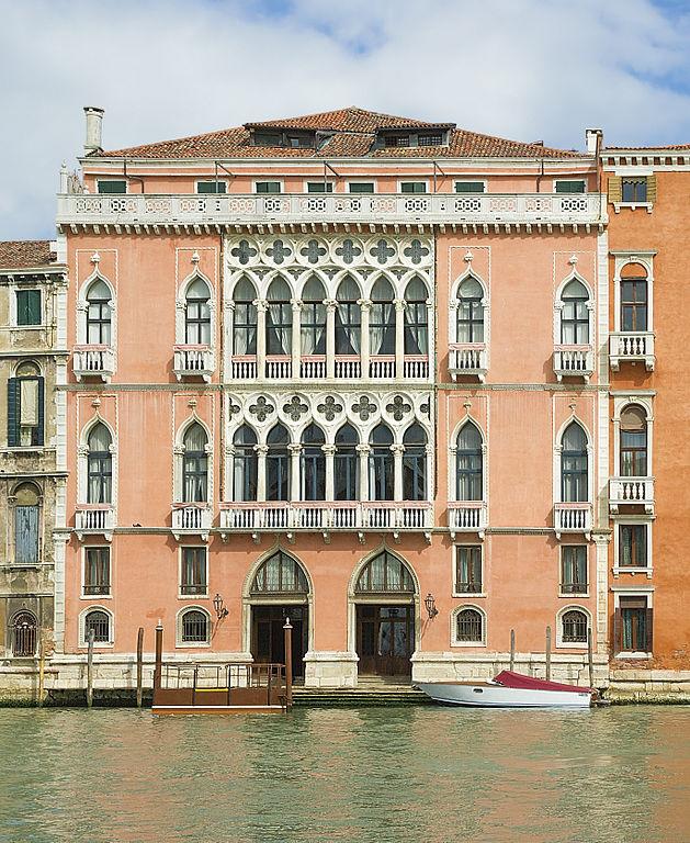 Palazzo Pisani Moretta sur le Canale Grande à Venise - Photo de Didier Descouens