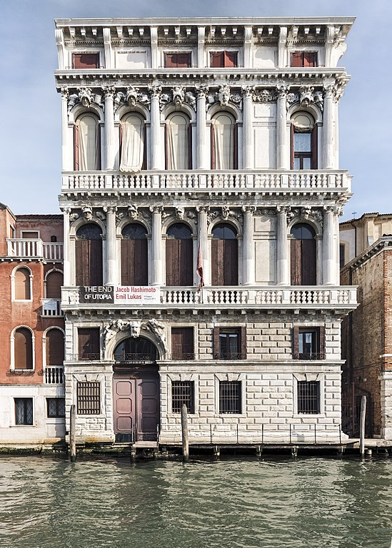 Palazzo Flangini sur la Grand Canal à Venise - Photo de Didier Descouens