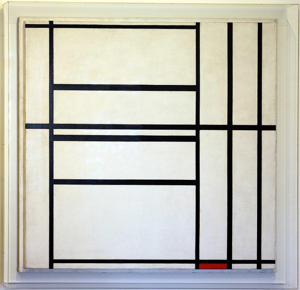 Composition de Piet Mondrian (1938) au musée Collection Peggy Guggenheim à Venise