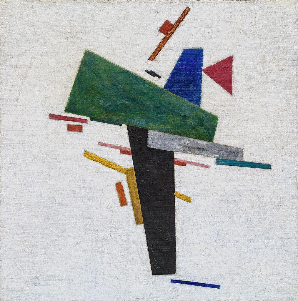 Untitled (1916) de Malevitch au musée Collection Peggy Guggenheim à Venise