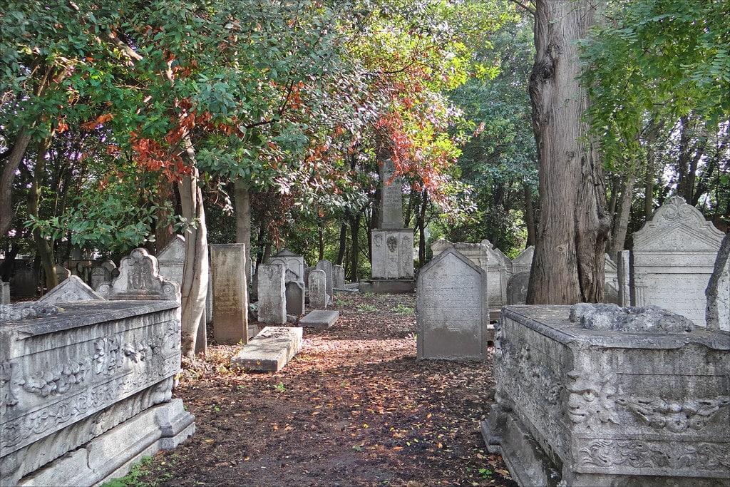 Ancien cimetière juif du Lido près de Venise - Photo de Dalbera