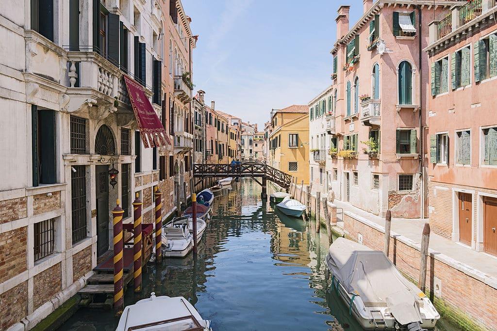 Quand venir à Venise en Italie ? Climat et météo à 7 jours. Photo de Didier Descouens