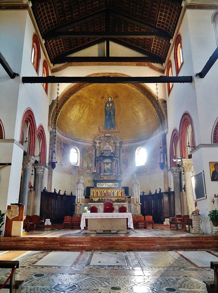 Basilique Santi Maria e Donato sur l'île de Murano près de Venise - Photo de Zairon
