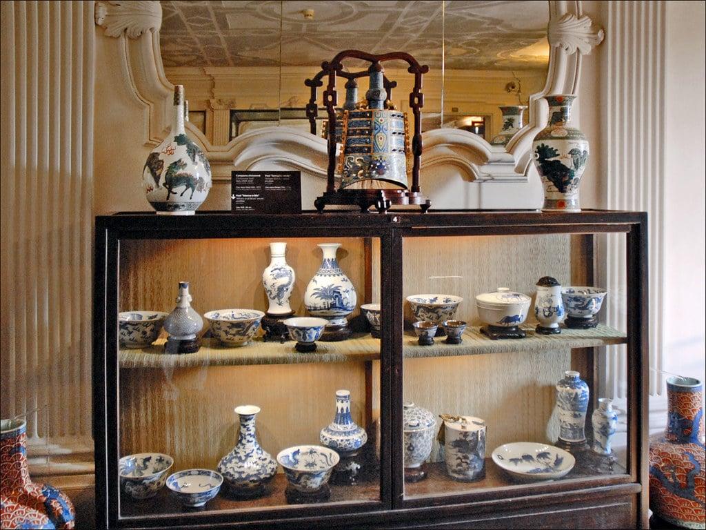 Porcelaine chinoise du musée d'art asiatique de Ca'Pesora à Venise - Photo de Dalbera