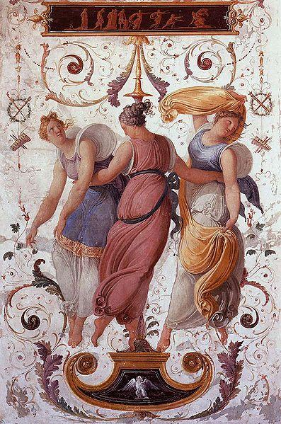 Peinture murale du musée Correr à Venise.