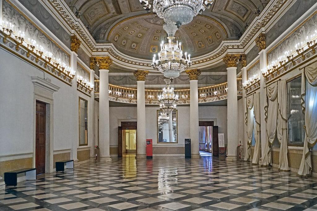 Salle de bal du Musée Correr à Venise - Photo de Dalbera