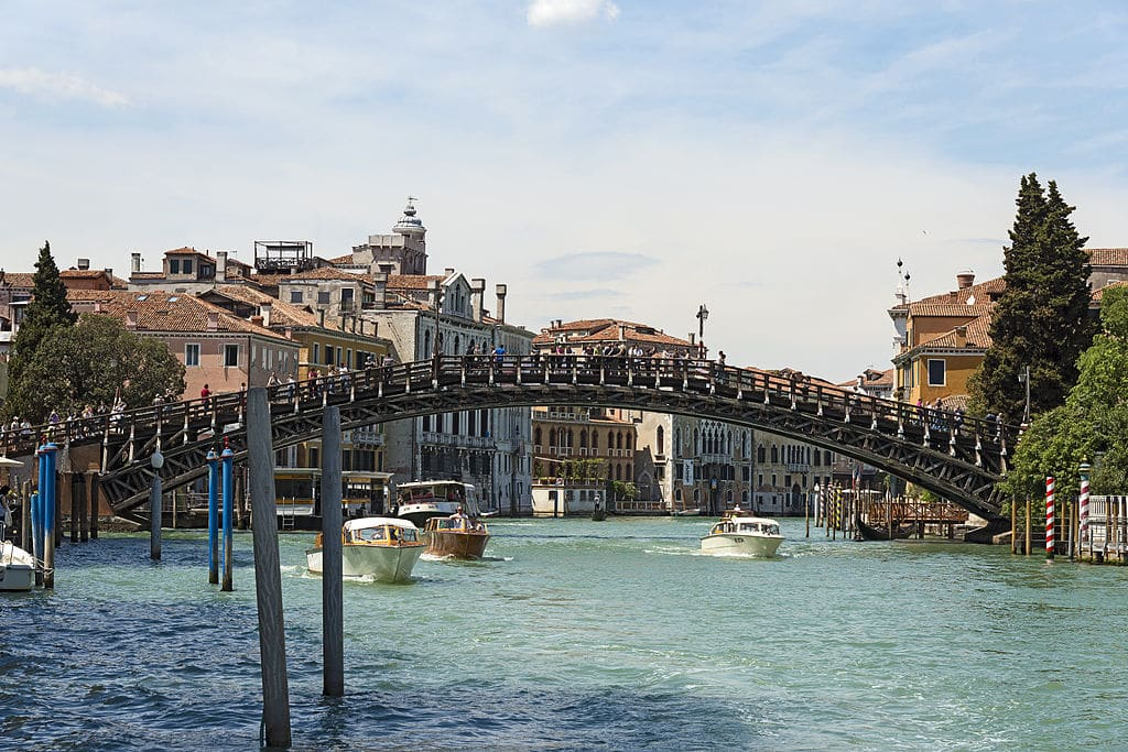 Ponte dell'Accademia à Venise - Photo de Didier Descouens