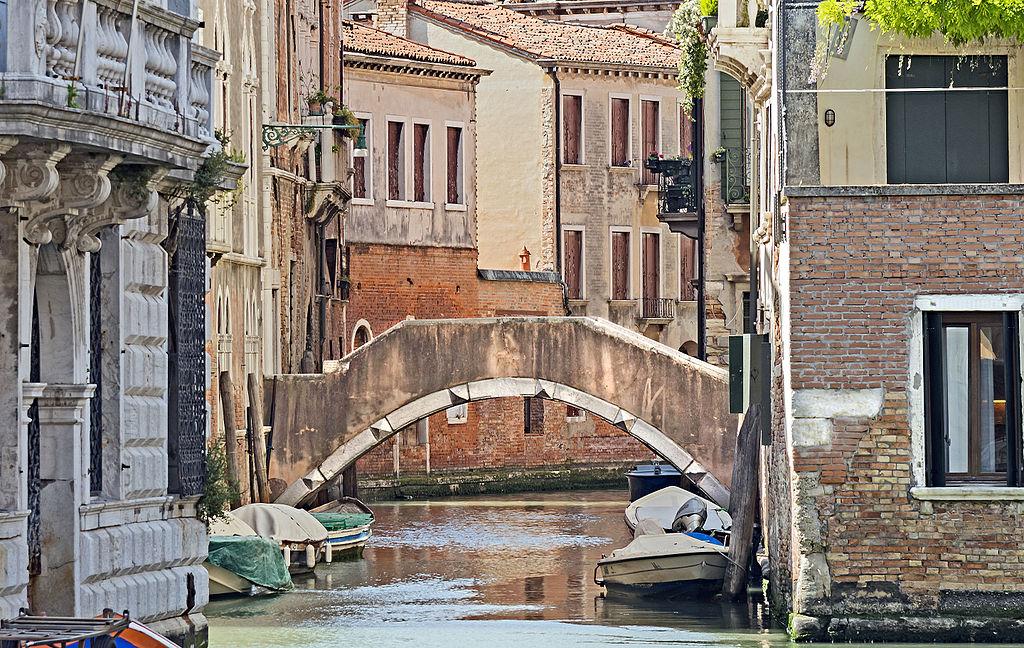 Ponte delle Oche dans le quartier de Santa Croce de Venise - Didier Descouens