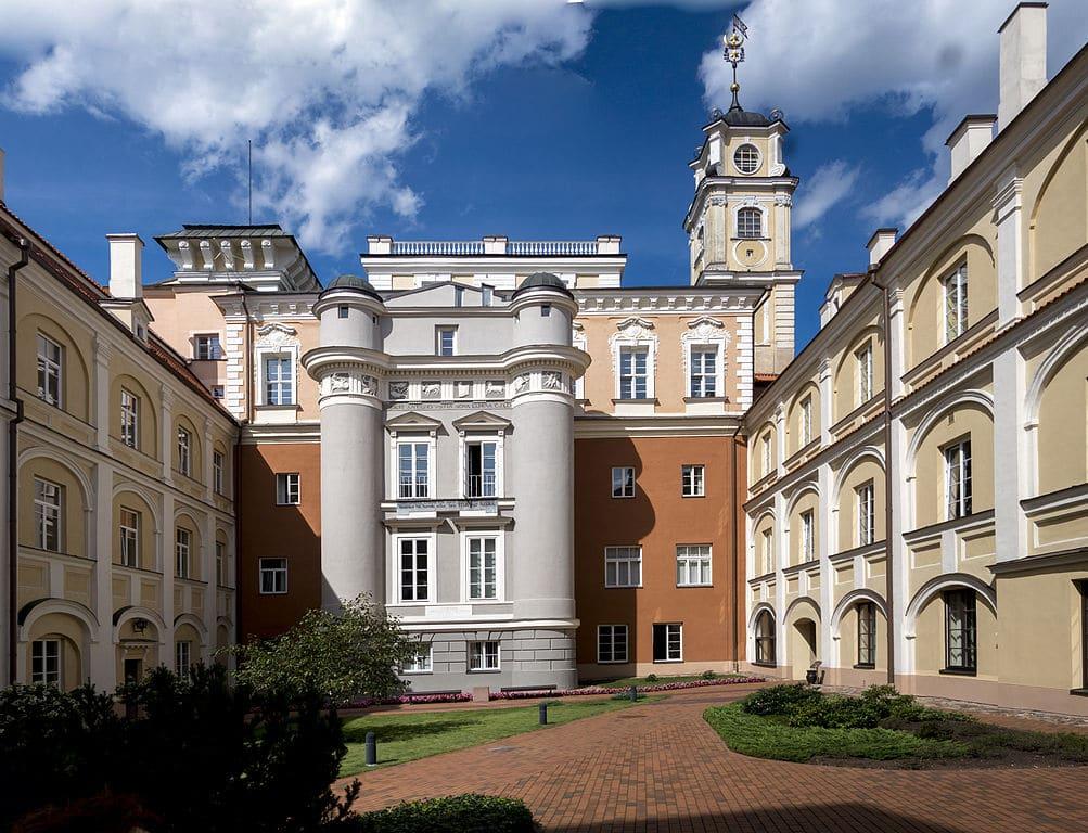 Université de Vilnius - Photo de Jerzy Strzelecki