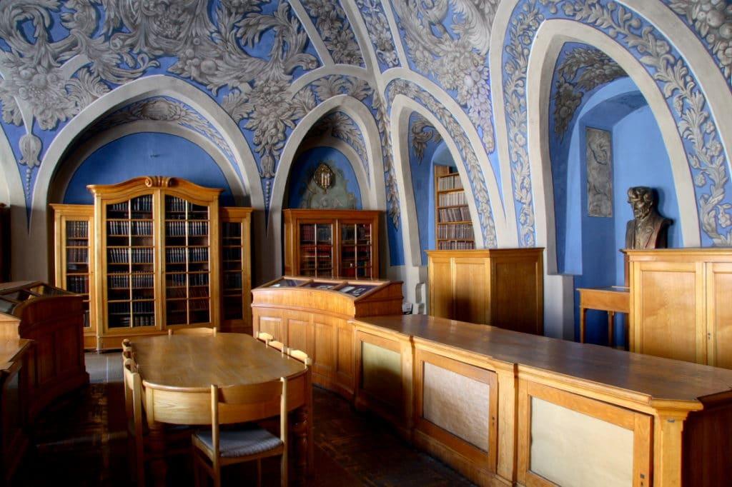 Bibliothèque de l'université de Vilnius - Photo de Raimondas Malaiška