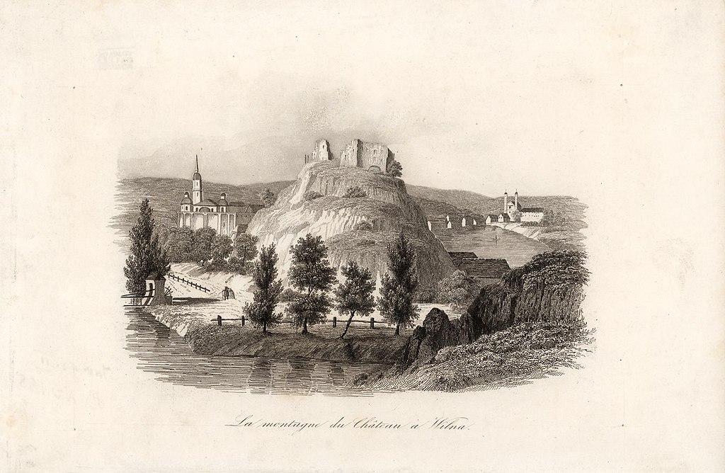 vilnius-Vilnia,_Zamkavaja_hara._Вільня,_Замкавая_гара_(1836)