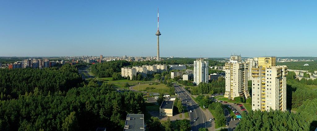 Tour de la television de Vilnius - Photo de Darius Smalskys
