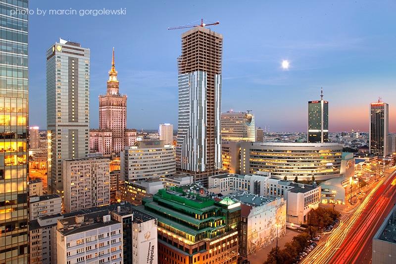 Centre-Nord de Varsovie, quartier moderne et vibrant [Centre ville]